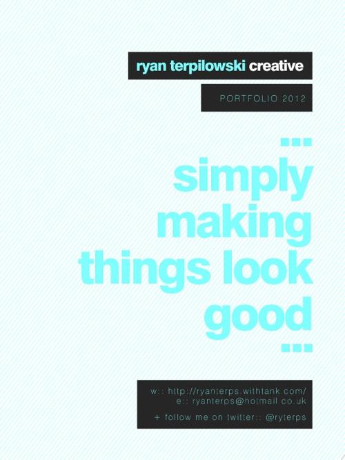 Ryan Terpilowski Portfolio