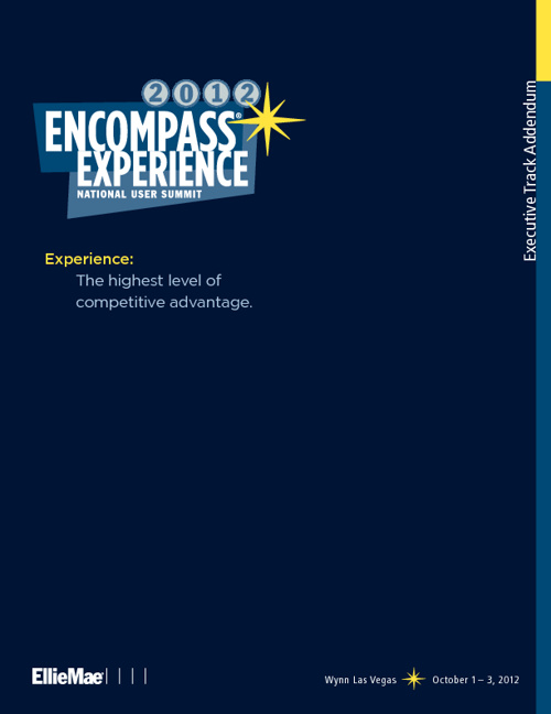 Encompass EXPERIENCE 2012 Program Addendum