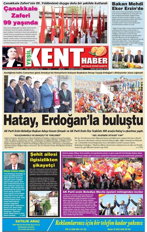 Yeşilkent Haber Gazetesi - Sayı 90