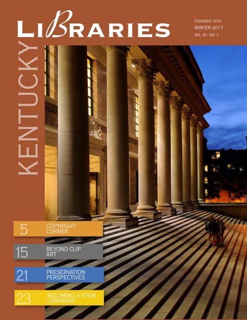 Kentucky Libraries v81 no 1