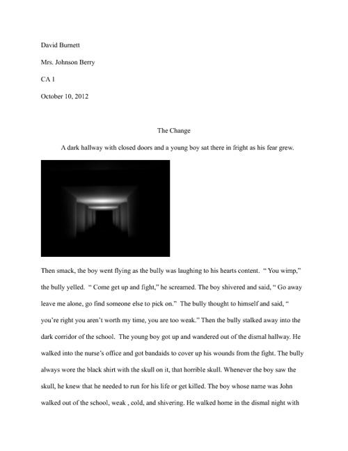 CA Short Story