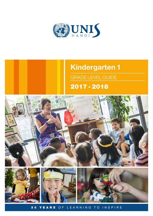 Kindergarten 1 Curriculum Guide 2017-2018