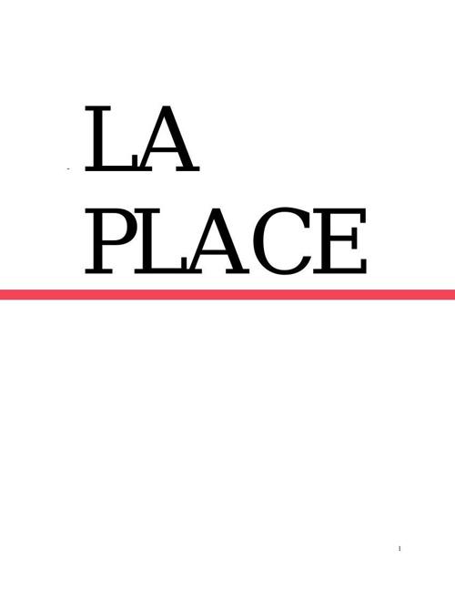 manual de bienvenida la empresa La Place