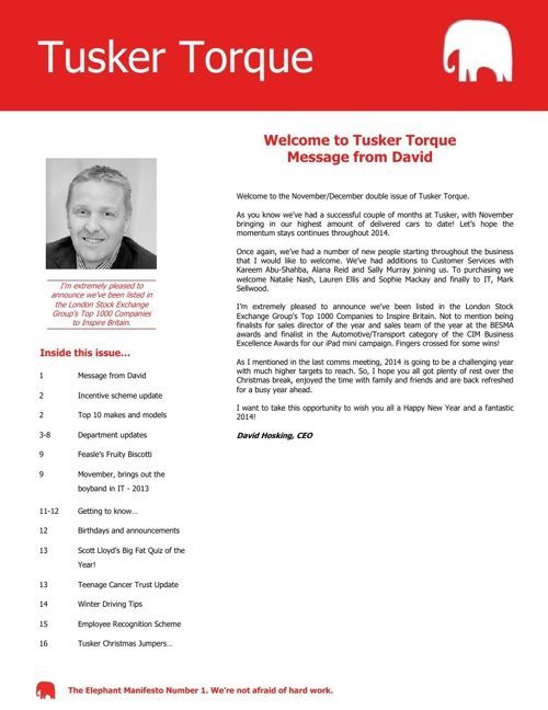 Tusker Torque - Issue 15