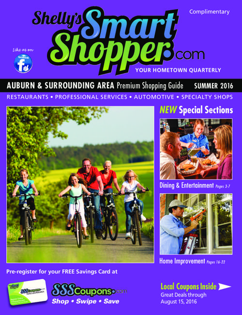 Shelly's Smart Shopper Auburn Summer 2016