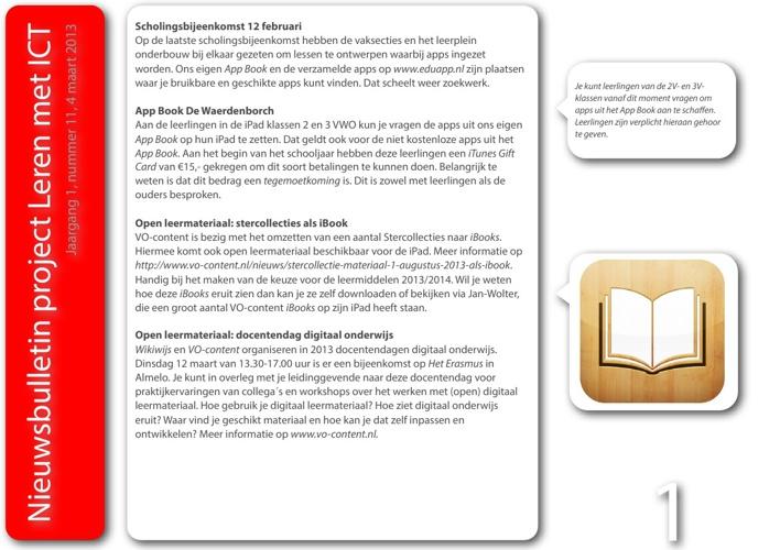Nieuwsbulletin Leren met ICT, jaargang 1, nummer 11