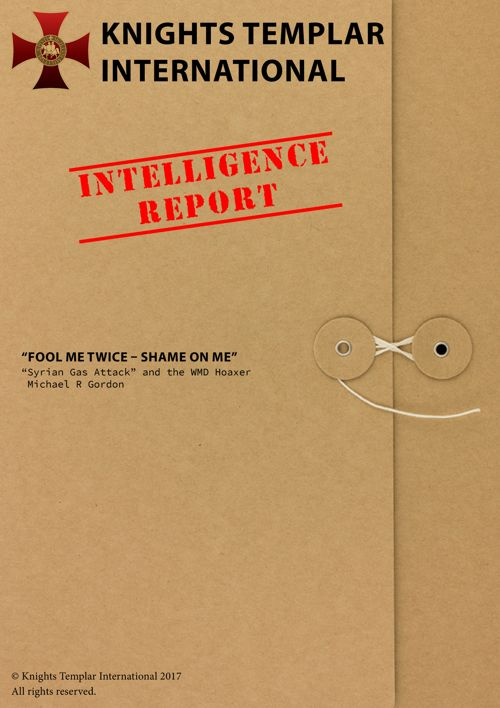 Intelligence Report April 7 2017