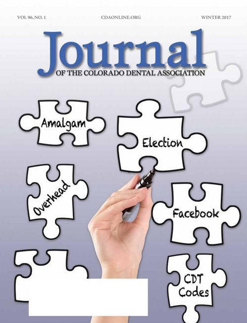 Winter 2017 Journal of the Colorado Dental Association