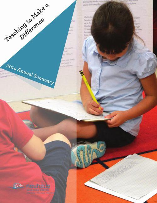 2014 Neuhaus Education Center Annual Report