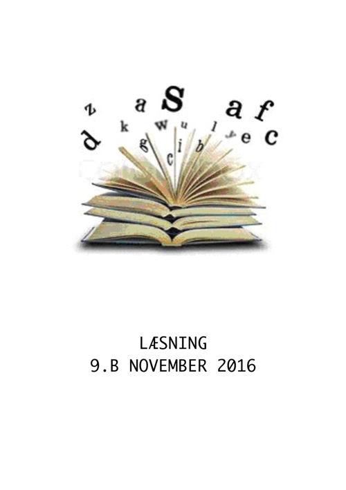 Læseforløb 9b november 16