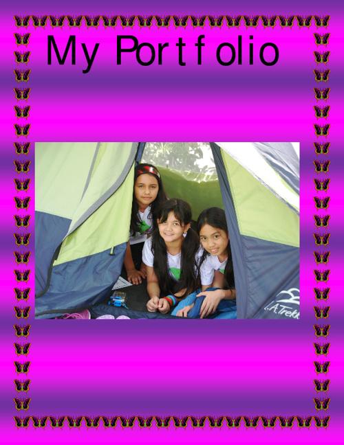 My Portfolio. Janice. Year 5