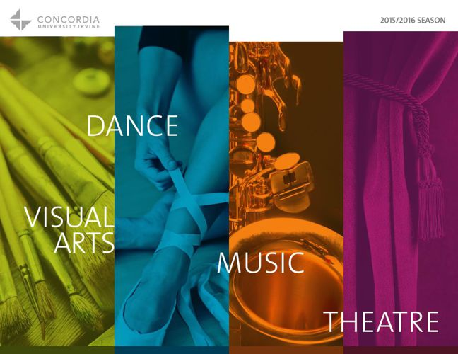 CUI The Arts Brochure 2015