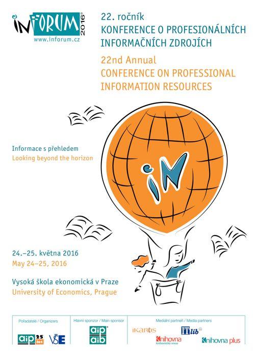 Inforum 2016 program konference / conference programme