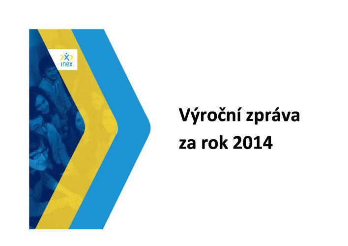 Výroční zpráva INEX-SDA 2014
