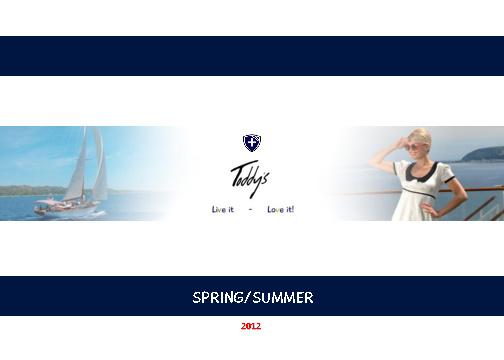 Toddy's SS12 Brochure