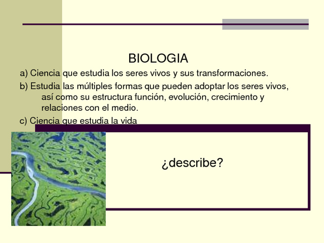 introduccion a biologia