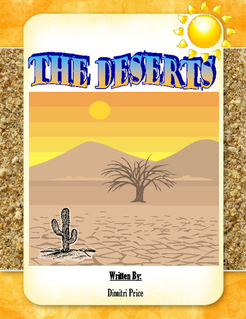 Copy of The Deserts