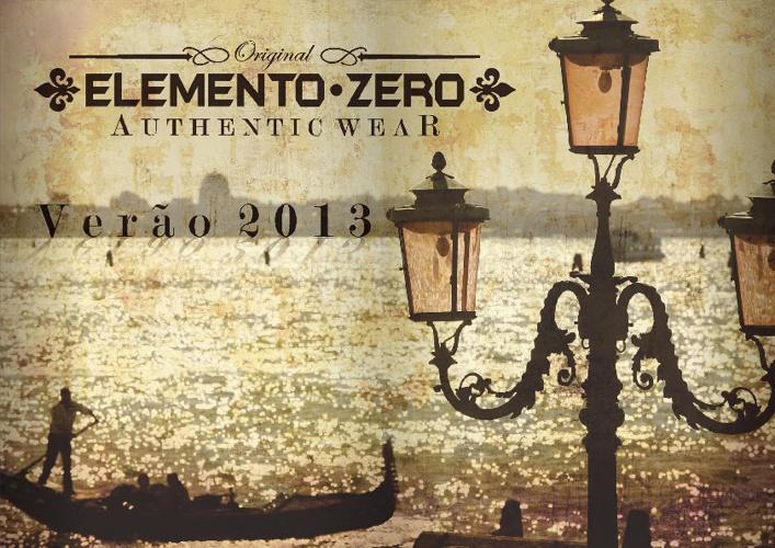 ELEMENTO ZERO - Verão 2013