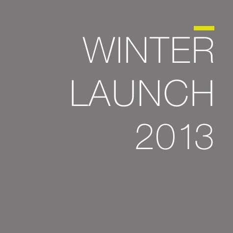 Winter Launch 2013