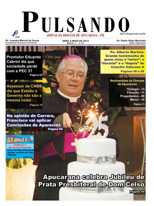 Jornal Pulsando de abril e maio de 2013