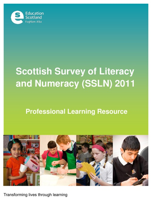 Scottish Survey of Literacy and Numeracy