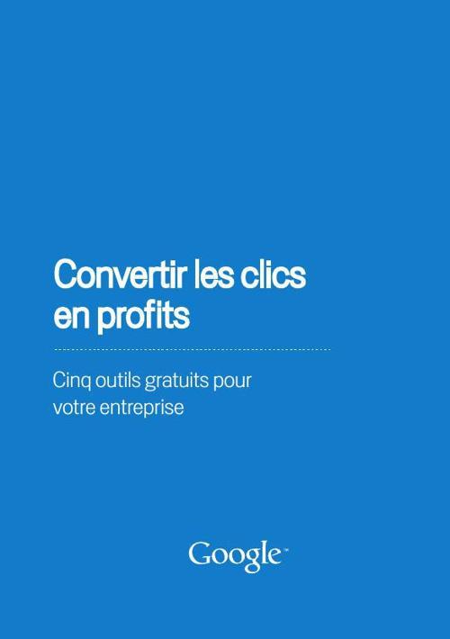 Convertir les clics en profit