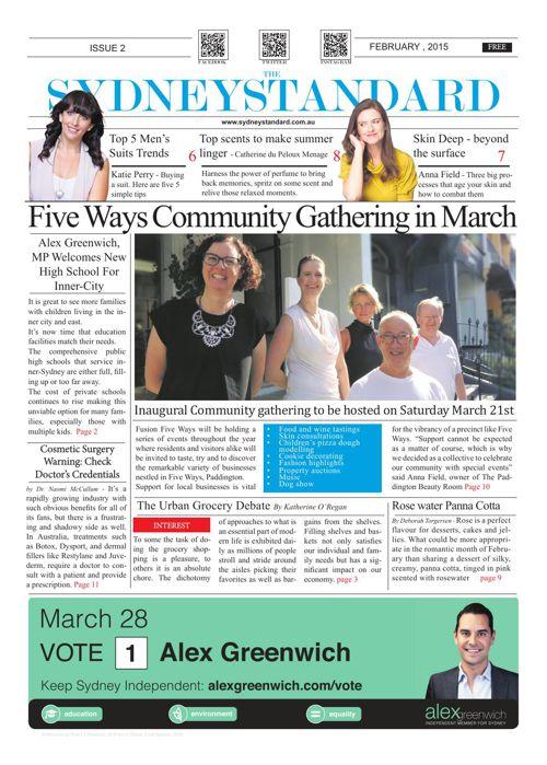 Sydney Standard February Print Edition