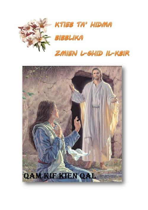 KTIEB TA' ATTIVITA BIBBLIKA - IR-RIZUREZZJONI