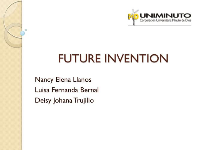 Copy of FUTURE INVENTION