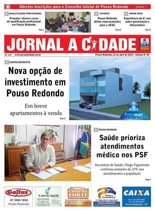 Jornal a Cidade - Edição 84
