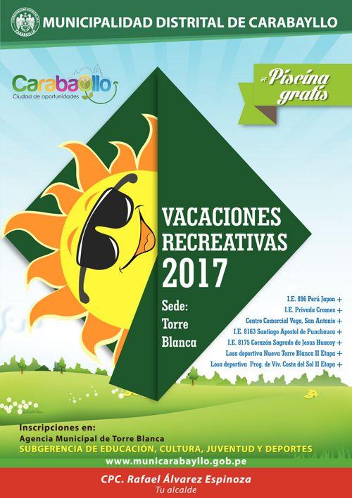 Vacaciones Útiles Agencia Torre Blanca