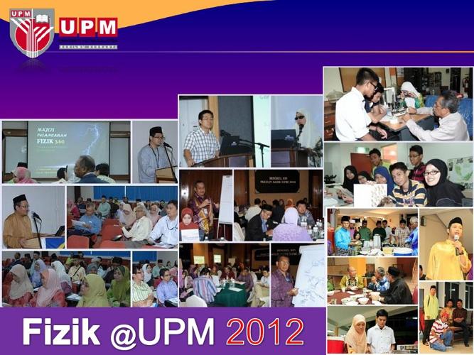 Fizik@UPM 2012
