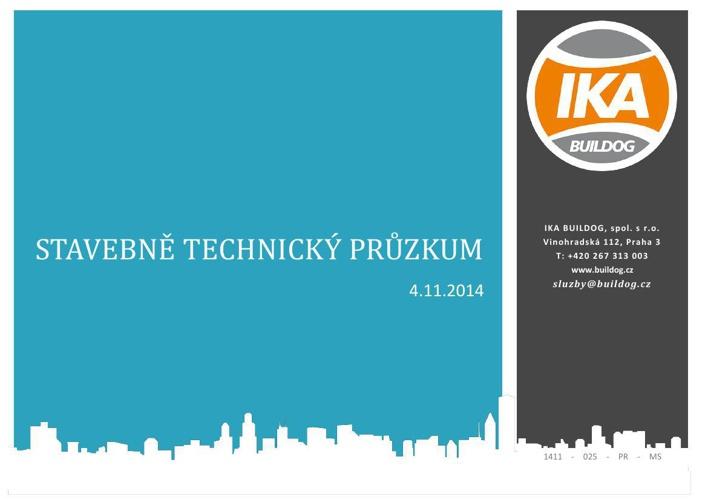 Ukázka protokolu ze stavebně technického průzkumu | IKA BUILDOG,