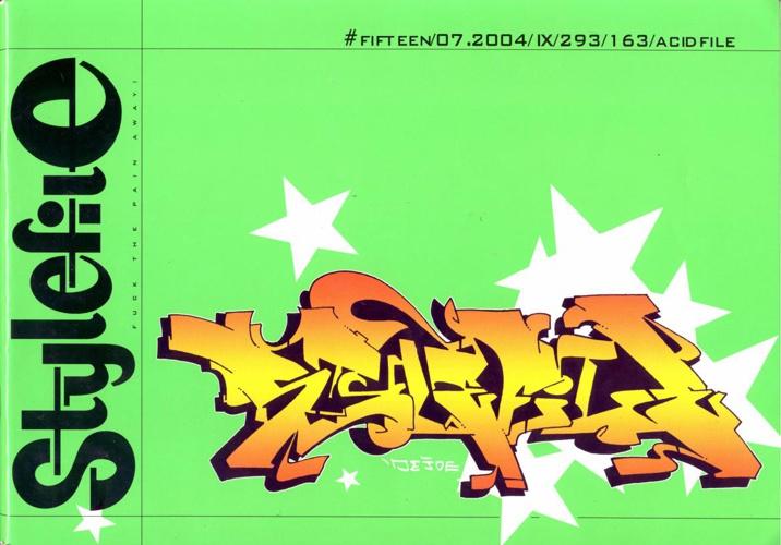 Stylefile Graffiti Magazine Issue 15