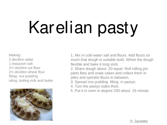 Finnish Sweets