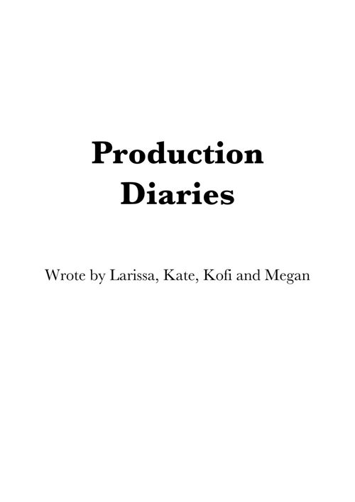 Production Dairy