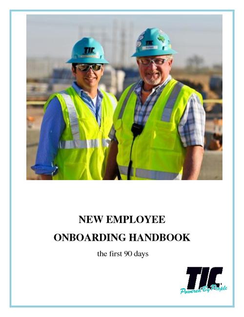 New Employee Onboarding Handbook