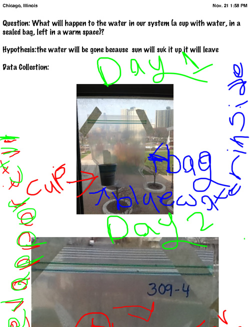 3rd grade water cycle lab reports
