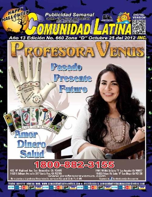 Comunidad Latina Zona D Oct 25, 2012