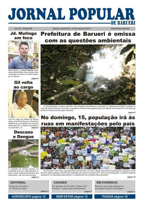 86ª edição do Jornal Popular de Barueri