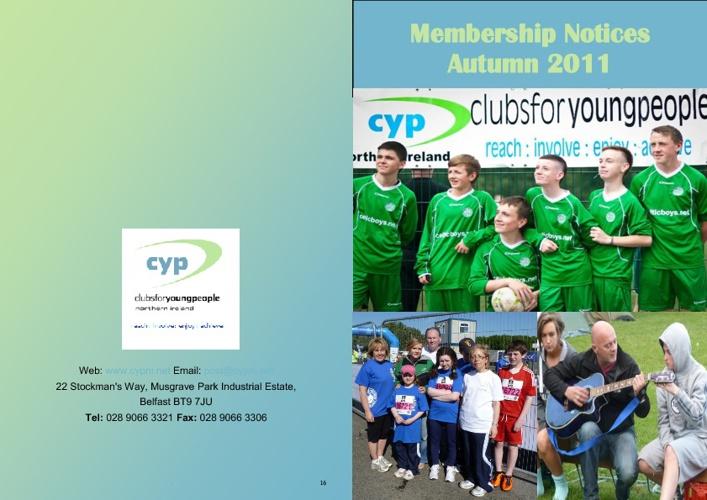 Membership Notices 2011