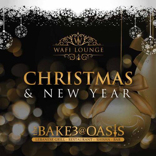 The Bake3@Oasis and Wai Lounge Christmas and New Year