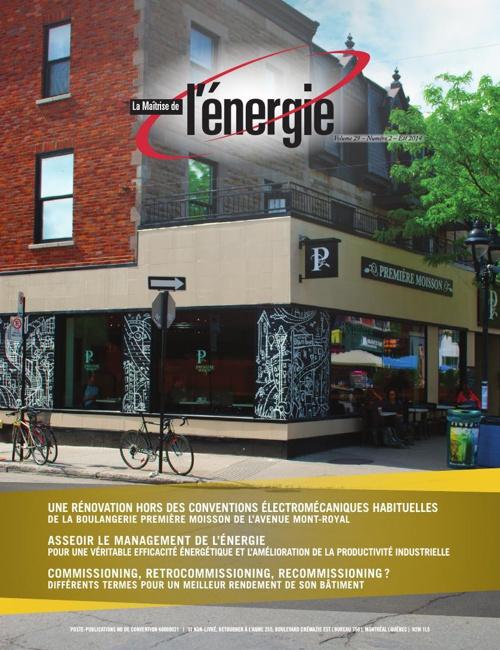 La maîtrise de l'énergie - Été 2014