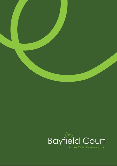 Bayfield Court Brochure - Diane Collins as manager