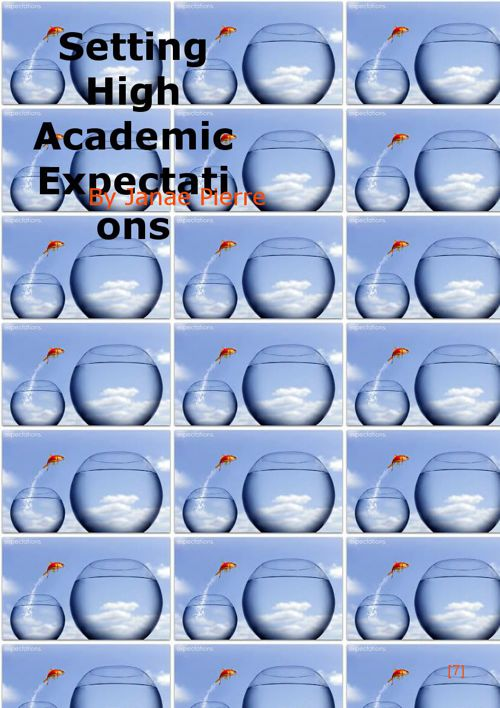 Setting High Academic Expectations (M4U3A1)