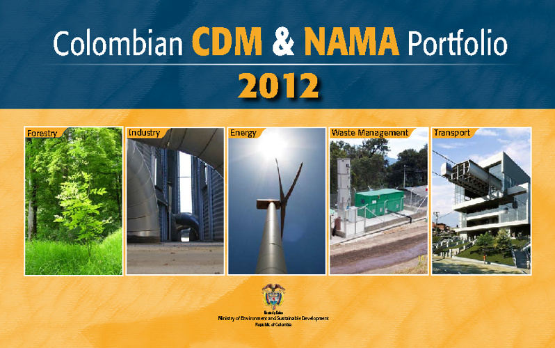 Colombian CDM & NAMAS Portfolio (May 2012)