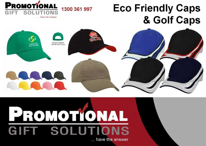 Eco-Friendly Caps and Golf Caps