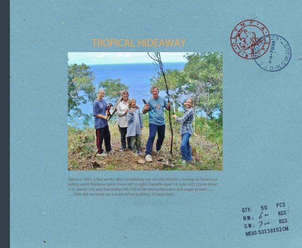 Tropical Hideaway Construction booklet