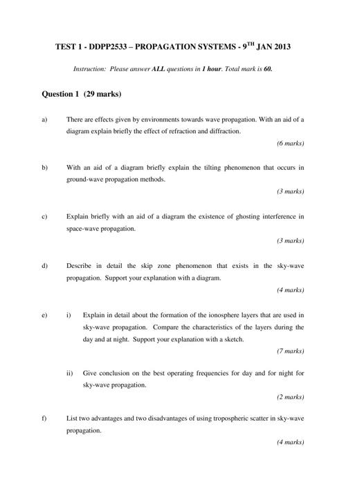 contoh soalan test 1