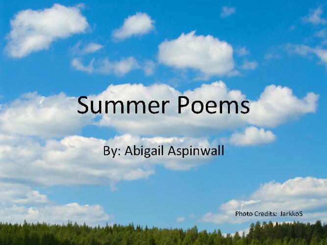 703C Aspinwall Abigail Poetry